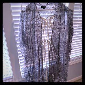 Kimono with Fringe details